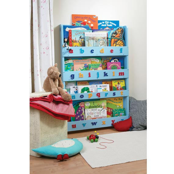 The Tidy Books Childrens Bookcase in Blue