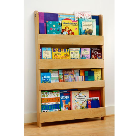 The Tidy Books Childrens Bookcase in natural