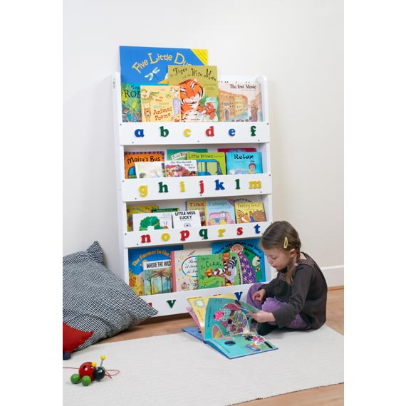 The Tidy Books Childrens Bookcase in White