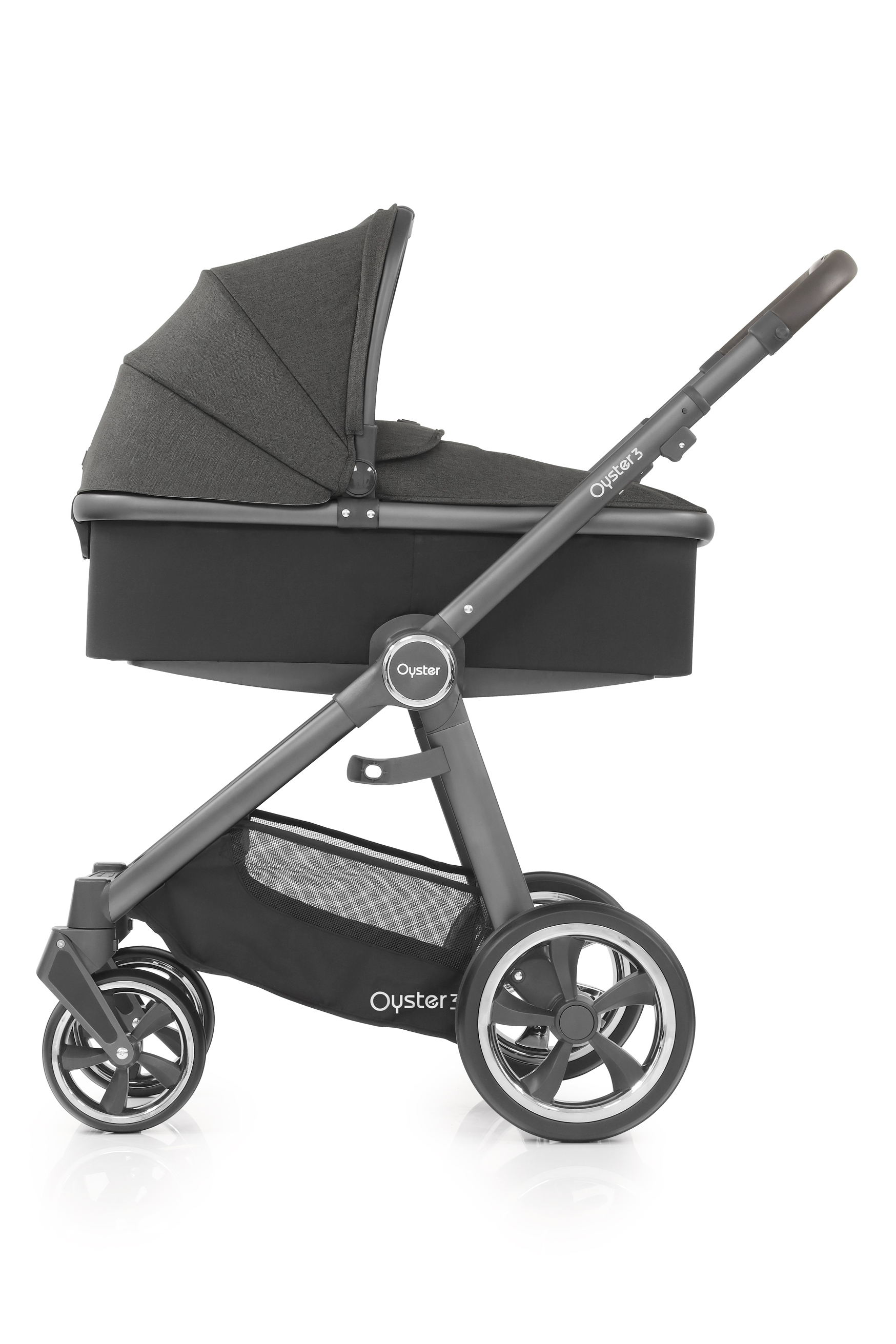 Oyster3 in Pepper carrycot